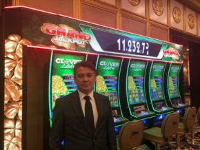 Record-breaking Clover Link installation at Les Ambassadeurs Casino in Northern Cyprus