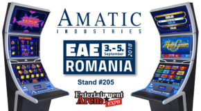 AMATIC to show latest cabinets with increased MULTI GAME choice in Romania