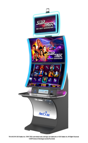 Aristocrat Will Reveal New Star Trek: The Next Generation Slot Game at G2E 2019