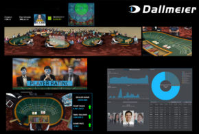 Dallmeier sponsors the 2019 European Dealer Championship and shows how the combination of video technology and AI can be used as a virtual assistant for dealers