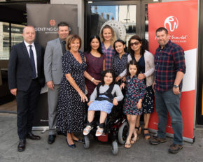 Chichester schoolgirl receives life changing gift