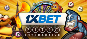 Zitro' s online games now available at 1xbet.com