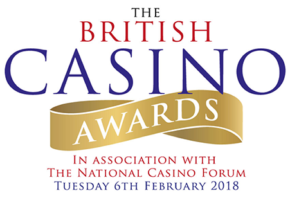 European Casino Association announces its support for The British Casino Awards