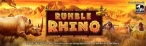 Explore the African Grasslands in Pariplay's New Rumble Rhino Slot