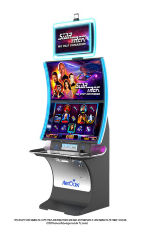 Aristocrat's new Star Trek: The Next Generation slot launches at M Resort