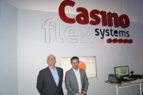 Great interest for CasinoFlex Systems' solutions at ICE