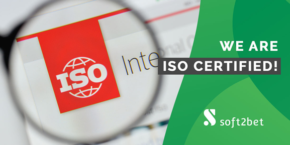 Soft2Bet Awarded ISO Certification