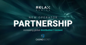 Relax Gaming teams up with CasinoSecret