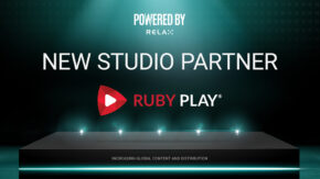 Relax signs RubyPlay as latest Powered By Relax partner