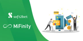 Soft2Bet links up with MiFinity