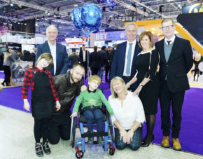 Clarion Gaming launch CHIPS charity partnership at ICE London
