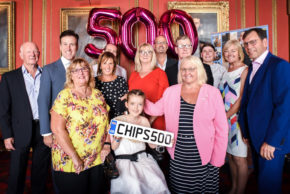 CHIPS has a ball for its 500th presentation with Strictly's Anton Du Beke